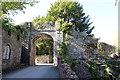 SJ1258 : Gate to Ruthin Castle by Jeff Buck