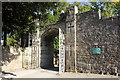 SJ1258 : Gateway at Ruthin Castle by Jeff Buck