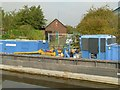SK5779 : Canal and Rivers Trust, Worksop Depot by Alan Murray-Rust