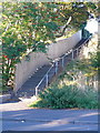 SE1622 : Steps on Brighouse FP81 at New Street, Clifton by Humphrey Bolton
