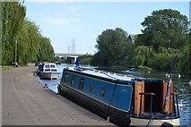 TL1998 : Narrowboat, River Nene by N Chadwick