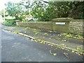 SD4331 : Kirkham boundary sign, Blackpool Road, Dowbridge by Christine Johnstone