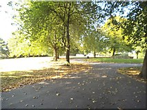 SJ9400 : Park Path by Gordon Griffiths