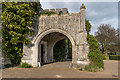SU8612 : Entrance to West Dean College by Ian Capper