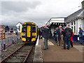 NG7627 : A busy time at Kyle station by John Lucas