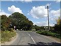 TM1762 : Ipswich Road, Debenham by Geographer