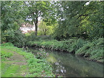 TQ2992 : Pymme's Brook in Arnos Park (2) by Mike Quinn