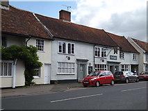 TM1763 : The Angel Inn Public House, Debenham by Adrian Cable