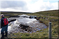 NY7533 : Waterfall on Trout Beck by Ian S