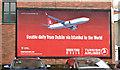 J3373 : Turkish Airlines poster, Belfast (October 2015) by Albert Bridge