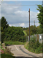 TM1763 : Great Back Lane, Debenham by Adrian Cable