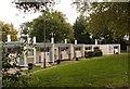 TQ2173 : Housing terrace, Minstead Gardens, Roehampton by Jim Osley