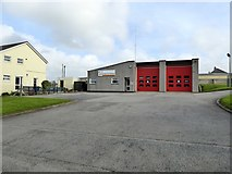 SW6719 : Mullion fire station by David Smith