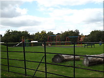 TM1763 : Play Area off Aspall Road by Adrian Cable