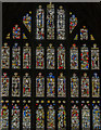 SO8318 : East window, Gloucester Cathedral Lady Chapel by Julian P Guffogg