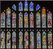 SO8318 : Chapter house window, Gloucester Cathedral by Julian P Guffogg