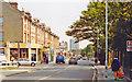 TQ2474 : Wandsworth (Putney), 1990: eastward on Upper Richmond Road approaching West Hill by Ben Brooksbank