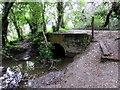SZ5991 : Footbridge over Monktonmead Brook, Ryde by Jaggery