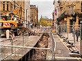 SJ8398 : Metrolink Second City Crossing Work, Cross Street by David Dixon