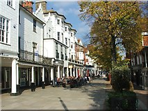 TQ5838 : The Pantiles, Tunbridge Wells by Chris Whippet