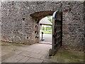 SX8664 : Outer courtyard of Compton Castle, near Paignton by Derek Voller