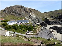 SW6813 : The shop and cafe at Kynance Cove by David Smith