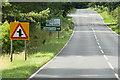 TL8586 : Northbound A134 near Thetford Rugby Club by David Dixon