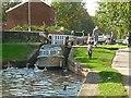 SK7080 : Locking down Retford Town Lock by Alan Murray-Rust