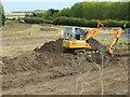 SU4886 : Scraping up Soil by Bill Nicholls