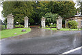 NZ0714 : Entrance to Rokeby Park by Ian S