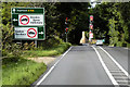TL8679 : Northbound A134, Barnham Crossroads by David Dixon