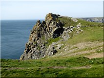 SW6911 : Cliffs at Lizard Point by David Smith