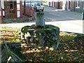 SK7081 : The Broad Stone, West Retford churchyard by Alan Murray-Rust