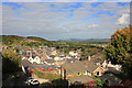SJ0566 : View from the North-Eastern Tower of Denbigh Town Walls by Jeff Buck
