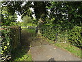 TM1160 : Gates of St.Mary the Virgin Churchyard by Adrian Cable