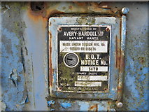 H4277 : Petrol pump serial notice by Kenneth  Allen