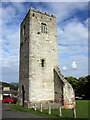 SJ0565 : Tower of St Hilary's Chapel, Denbigh by Jeff Buck