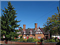 SJ6452 : Wilbraham's Almshouses, Welsh Row, Nantwich by Stephen Craven