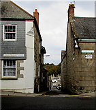 SW7834 : Between Lower Market Street and Broad Street, Penryn by Jaggery