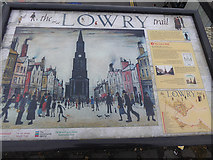 NT9953 : The Lowry Trail - point 8 The Town Hall by Oliver Dixon