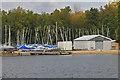 SU8357 : Hawley Lake, sailing dinghies by Alan Hunt