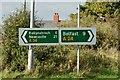 J3560 : Direction signs, The Temple Crossroads - October 2015(1) by Albert Bridge
