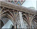 SS2324 : Close up of the intricate carving on the Rood Screen, St Nectan's Church by Derek Voller