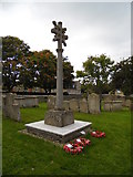 TF1505 : Restored war memorial at St. Benedict's Church, Glinton by Paul Bryan