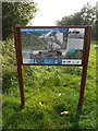 TM0614 : Sign at Crudmore Grove Country Park by Adrian Cable