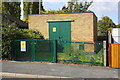 SK5317 : Electricity substation next to #399 Park Road by Roger Templeman