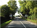 TM0213 : Entering West Mersea on East Road by Adrian Cable