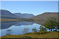 NN1489 : Looking across Loch Arkaig by Nigel Brown