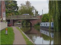 SK1705 : Lichfield Road Bridge in Hopwas by Mat Fascione