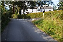 SD3398 : Road junction at Tenter Hill by Philip Halling